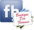 Album Facebook Sac de soirée Anastasia • Noir et argenté • 20x12x5cm